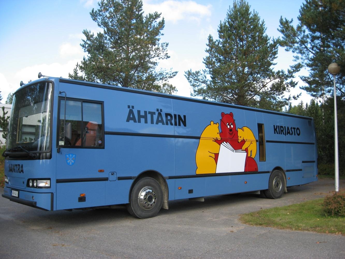 Mobile library Santra (Ähtäri)