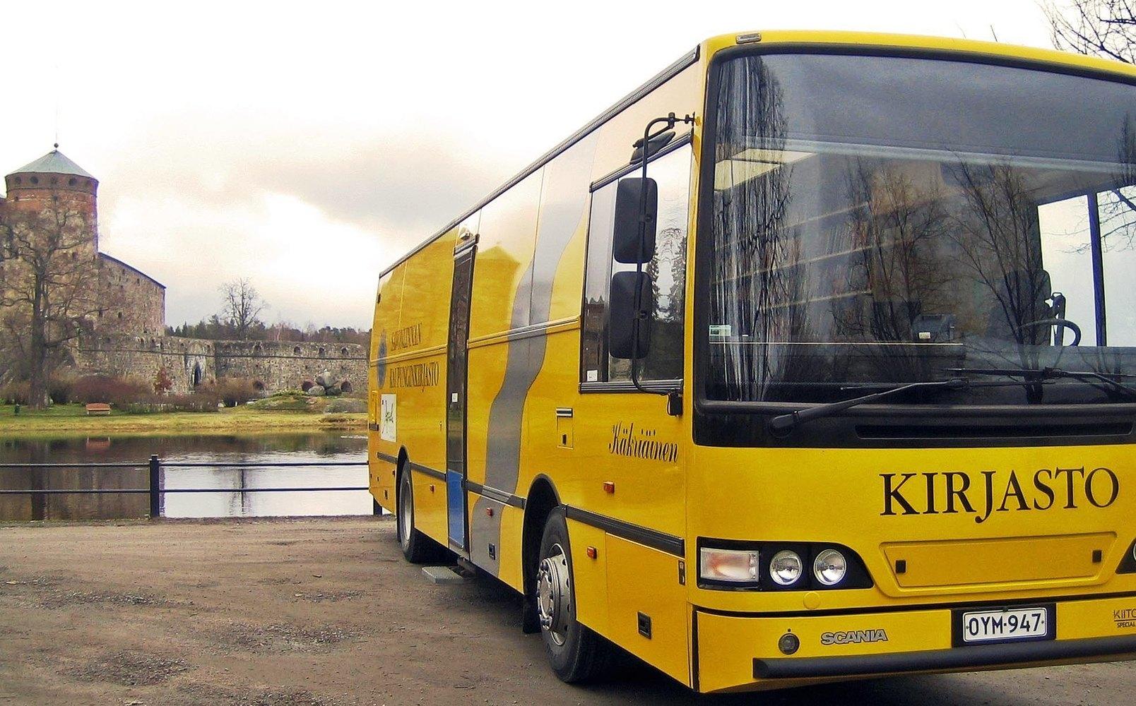 Kirjastoauto Käkriäinen