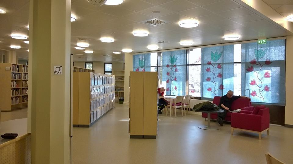 Lieksa library