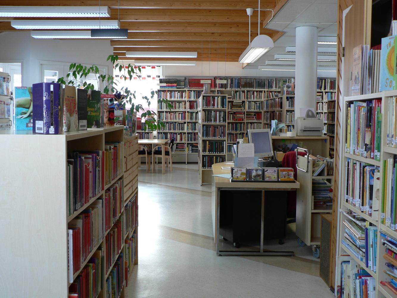 Maxmo bibliotek - Maksamaan kirjasto