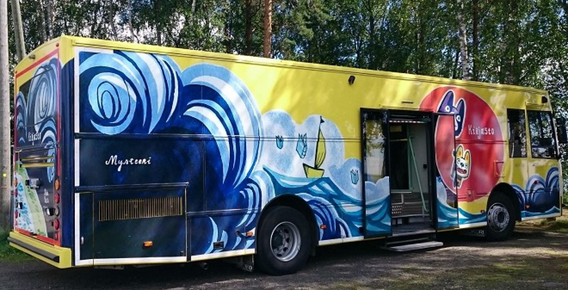 Joensuun kirjastoauto