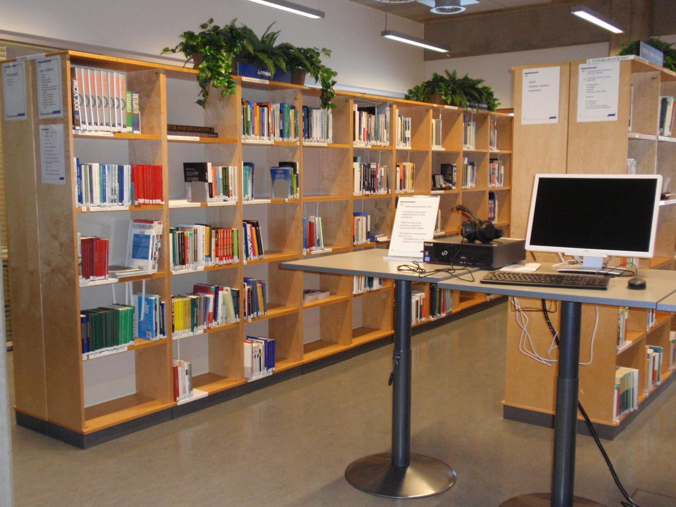 Ilmasotakoulun kirjasto