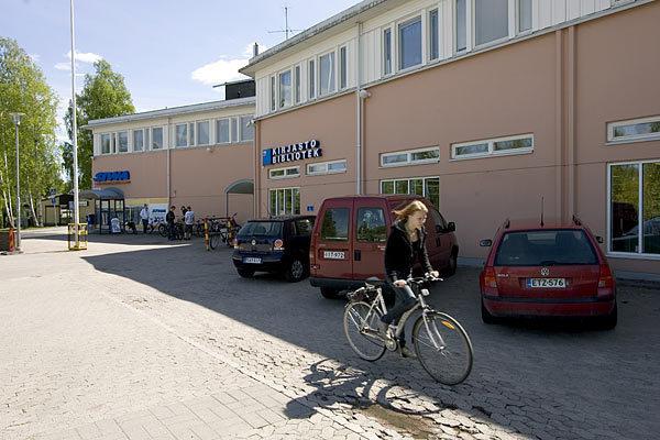 Paloheinän kirjasto kesällä 2009