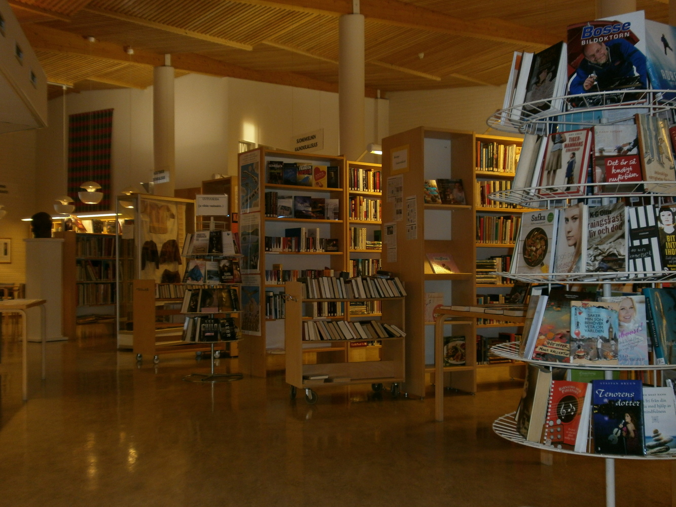 Huvudbibliotek - Pääkirjasto