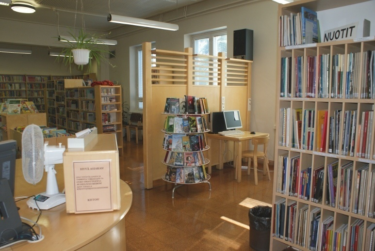 Polvijärvi library