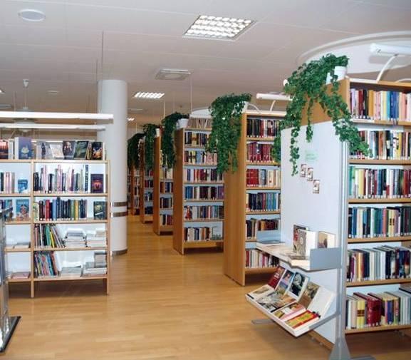 Keskussairaalan kirjasto