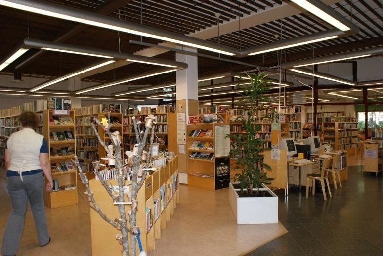 Rantakylä library