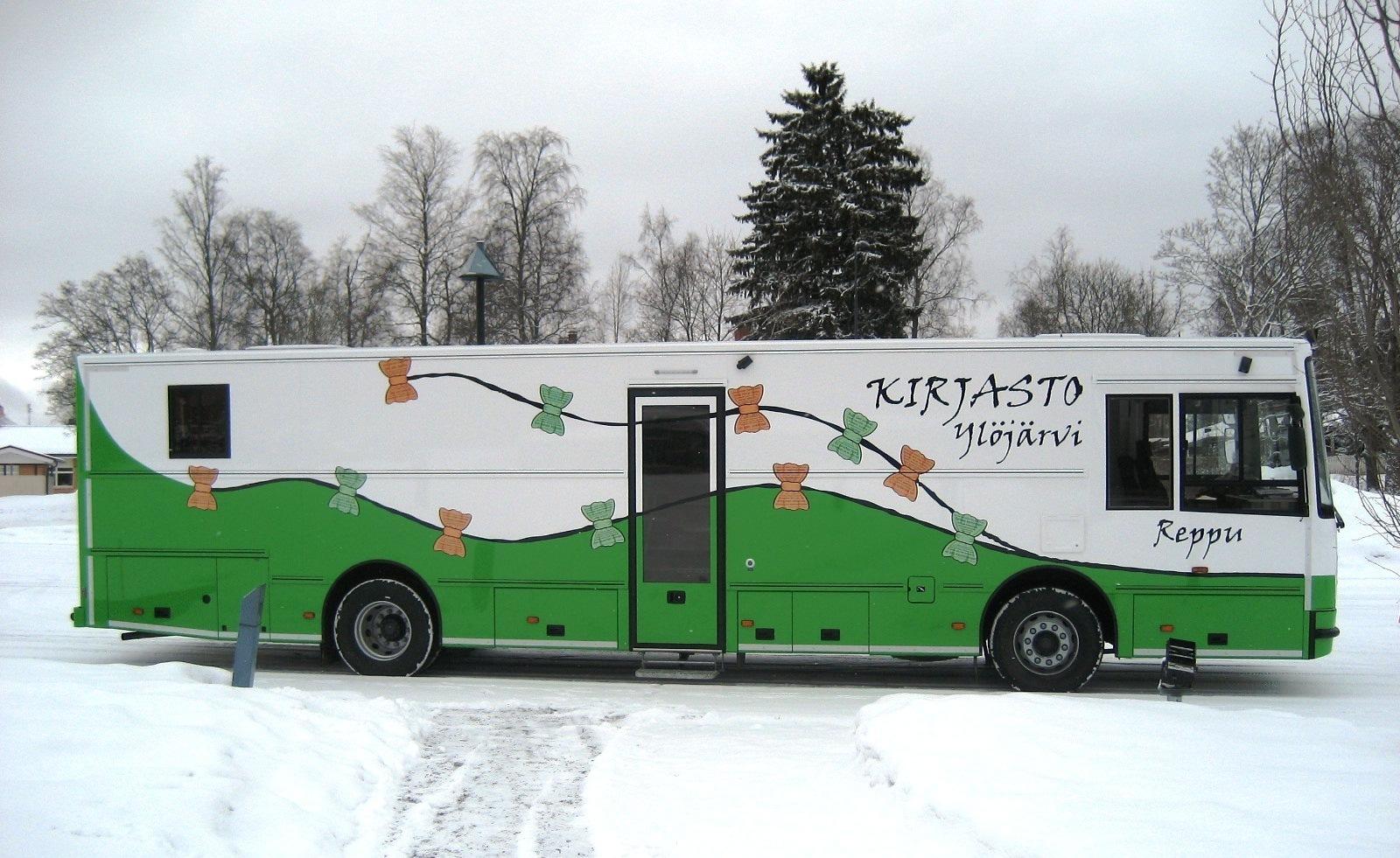 Kirjastoauto Reppu (Ylöjärvi)