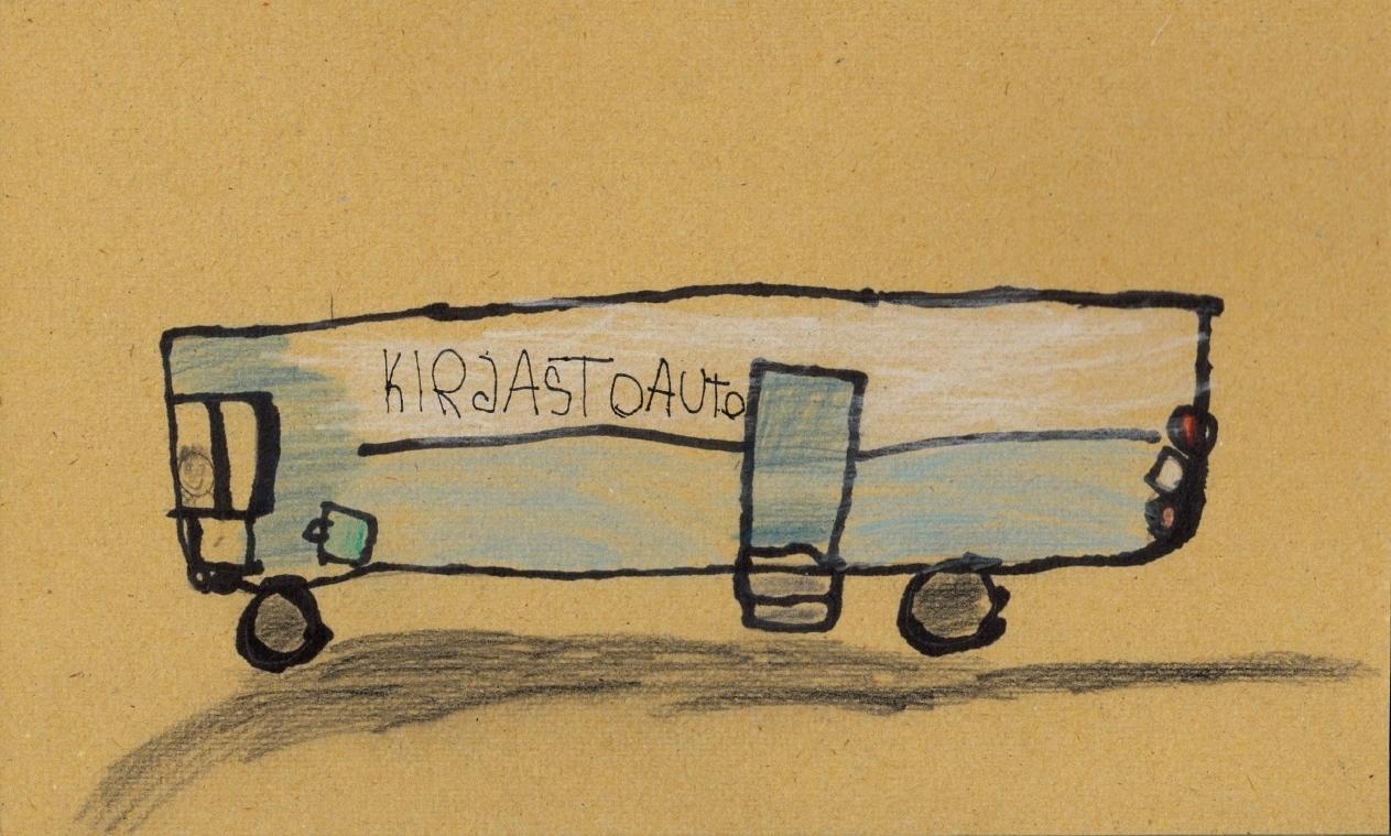 Kirjastoauto Rietrikki