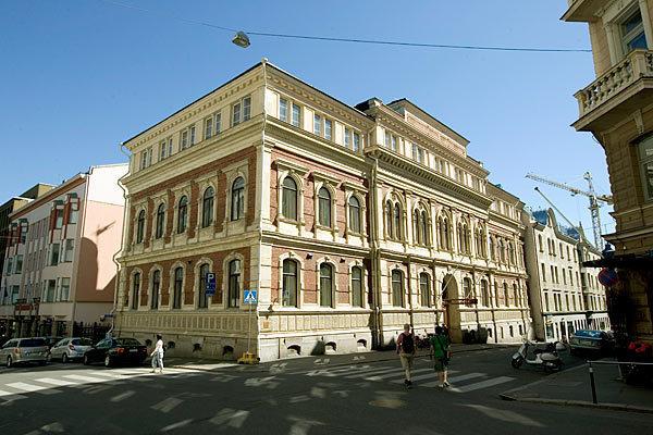 Rikhardinkadun kirjasto kesällä 2009