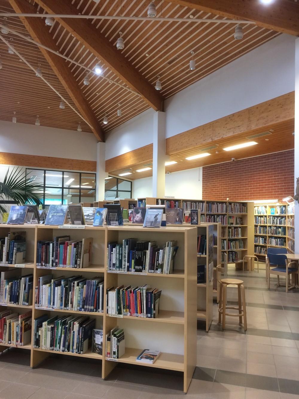 Ruissalo library