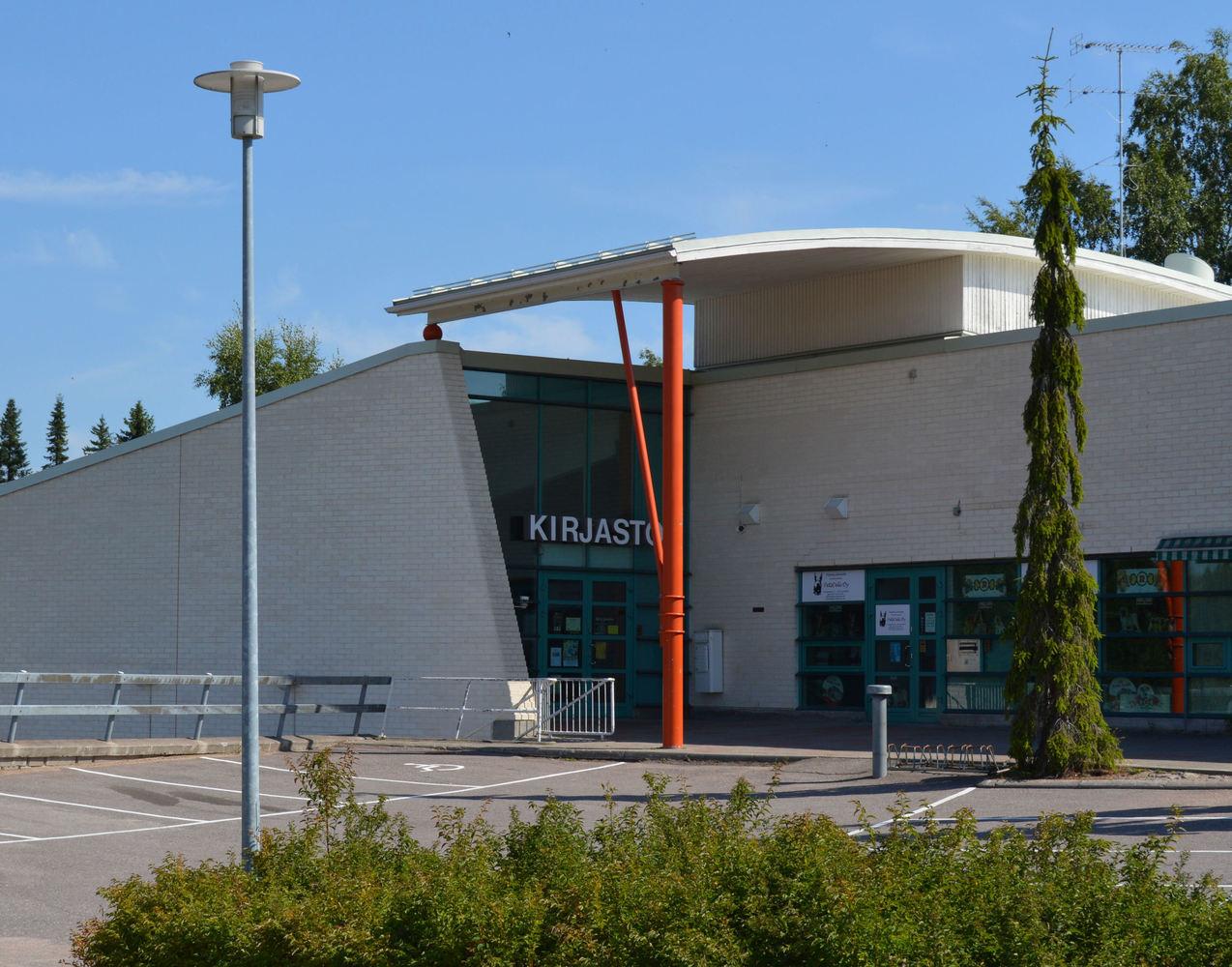 Lojo, Saukkola bibliotek