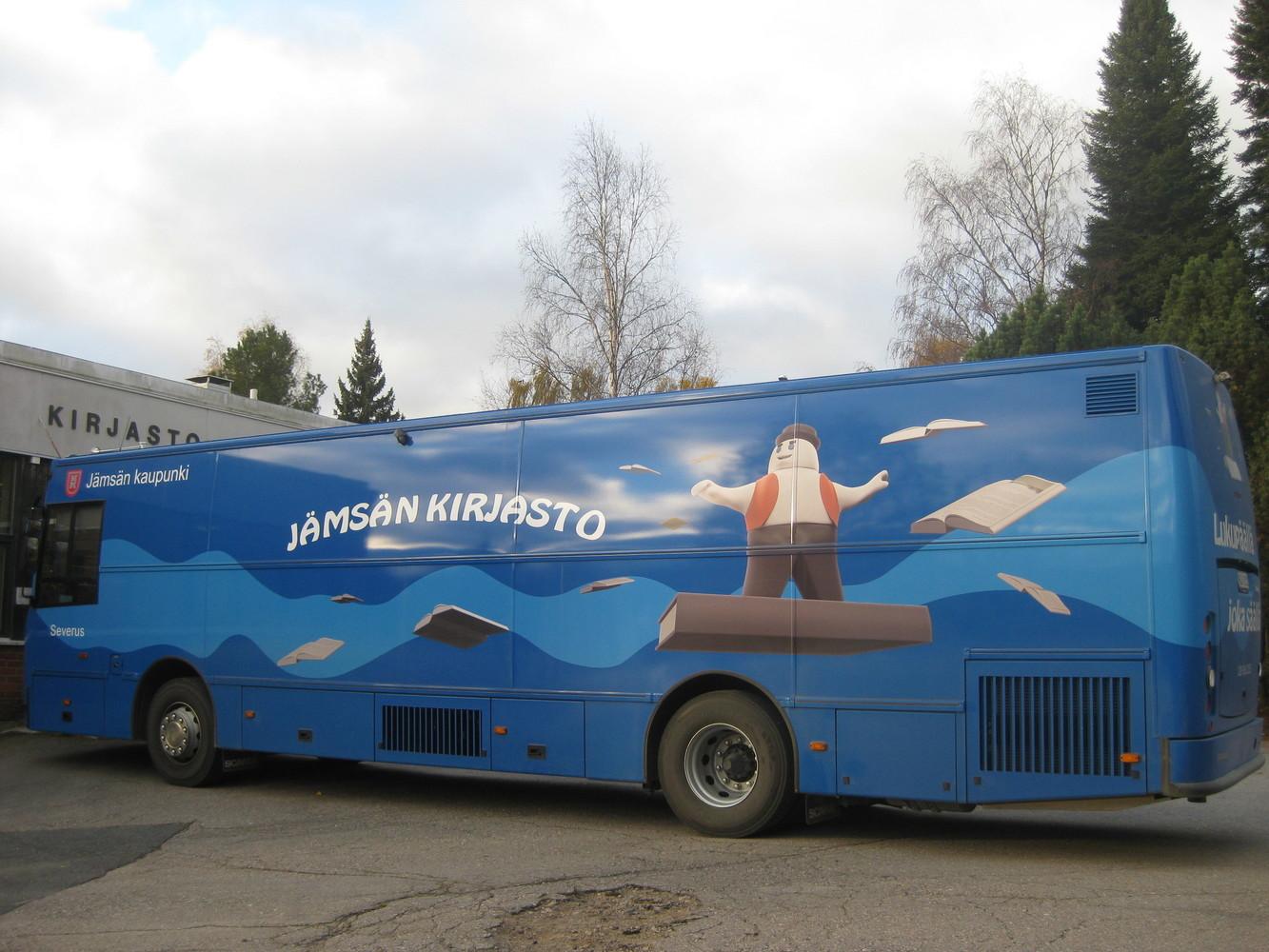 Kirjastoauto Severus (Jämsä)