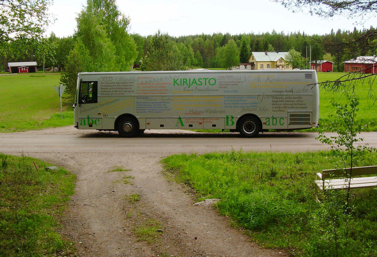 Bookmobile Teuvo