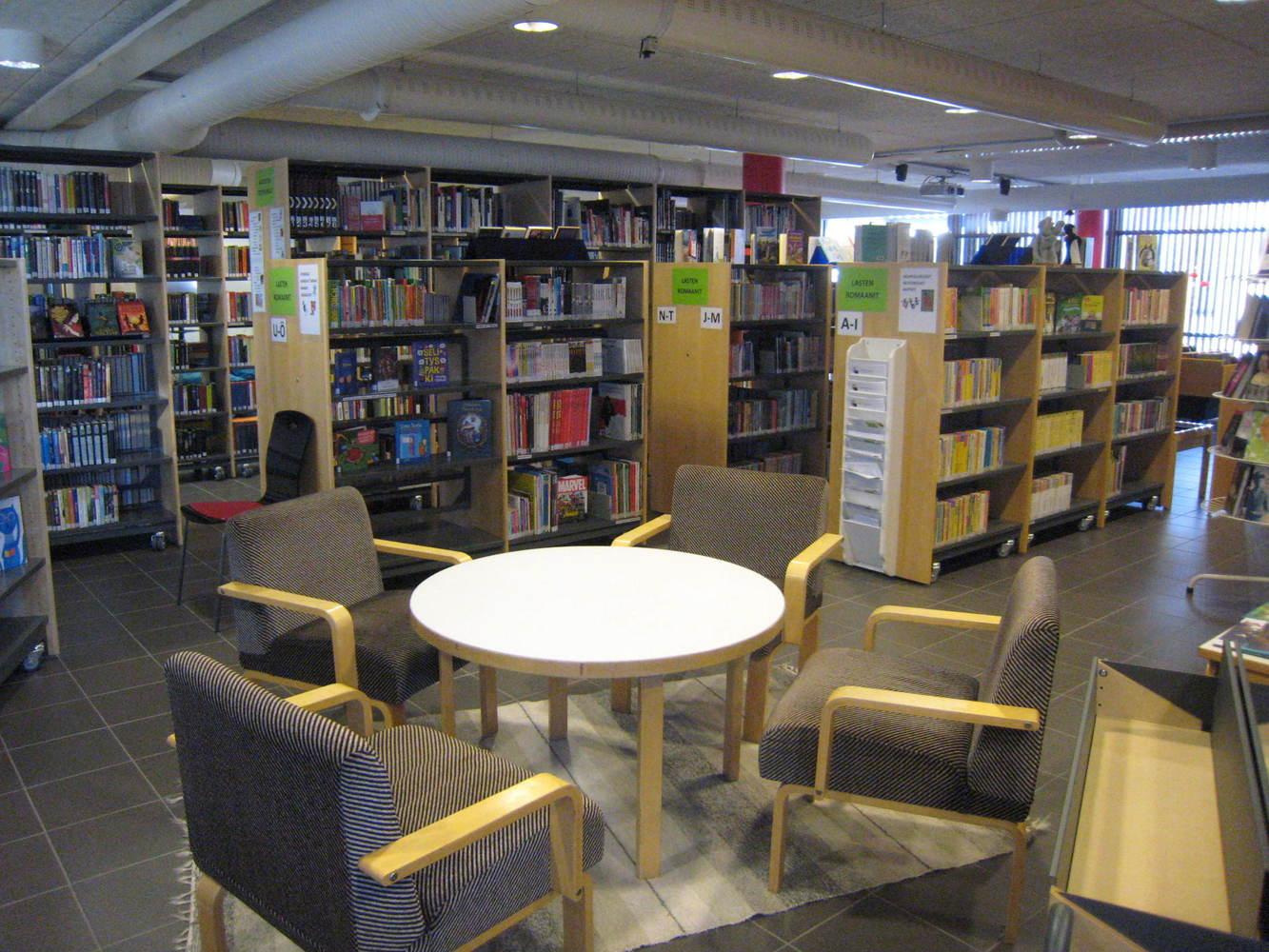 Tietotori library