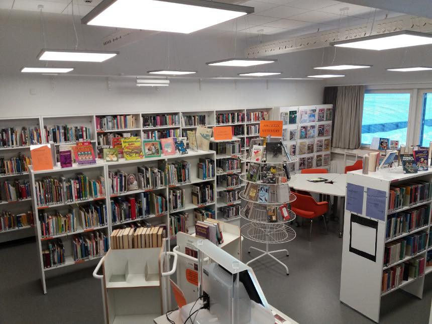 Uimaharju library