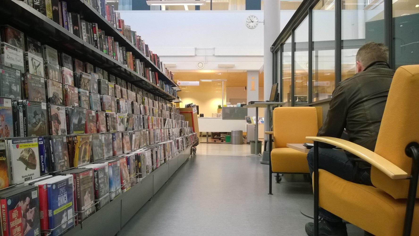 Kotkantie Library