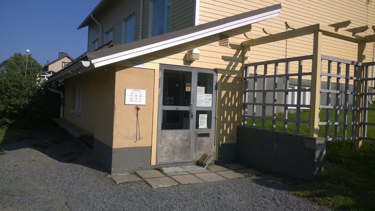Kurkimäki branch library