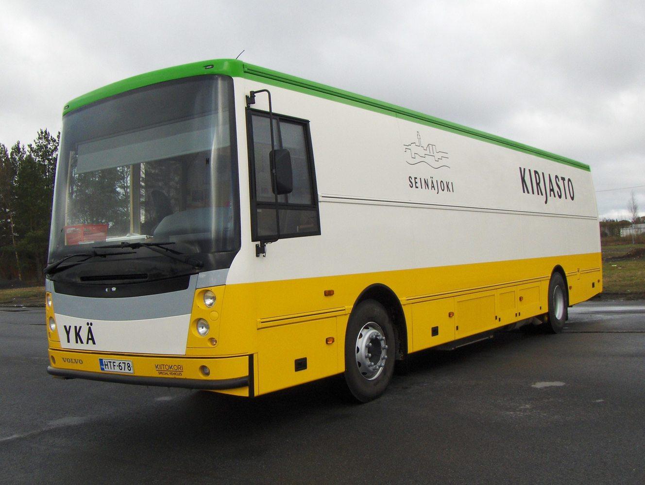 Kirjastoauto Ykä (Seinäjoki)