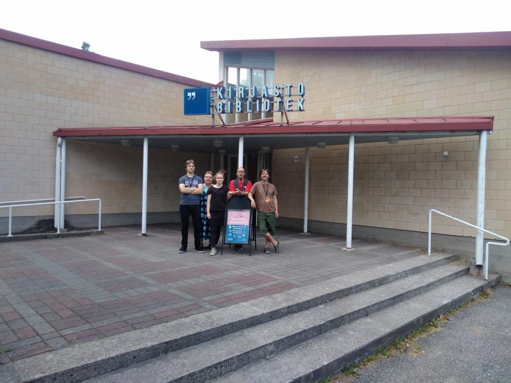 Kuva toimipisteestä: Pitäjänmäen kirjasto