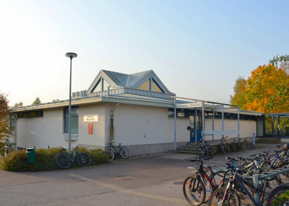 Kuva toimipisteestä: Kauklahden kirjasto
