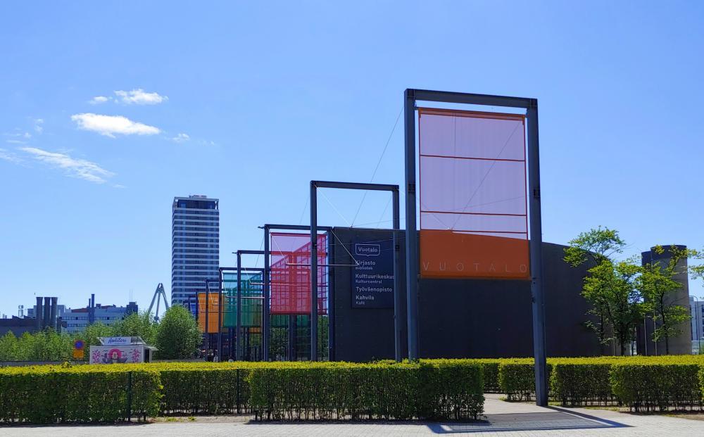 Picture of service point: Vuosaari Library