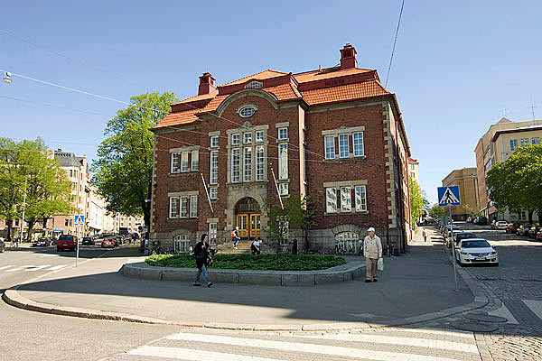 Kallion kirjasto kesällä 2009