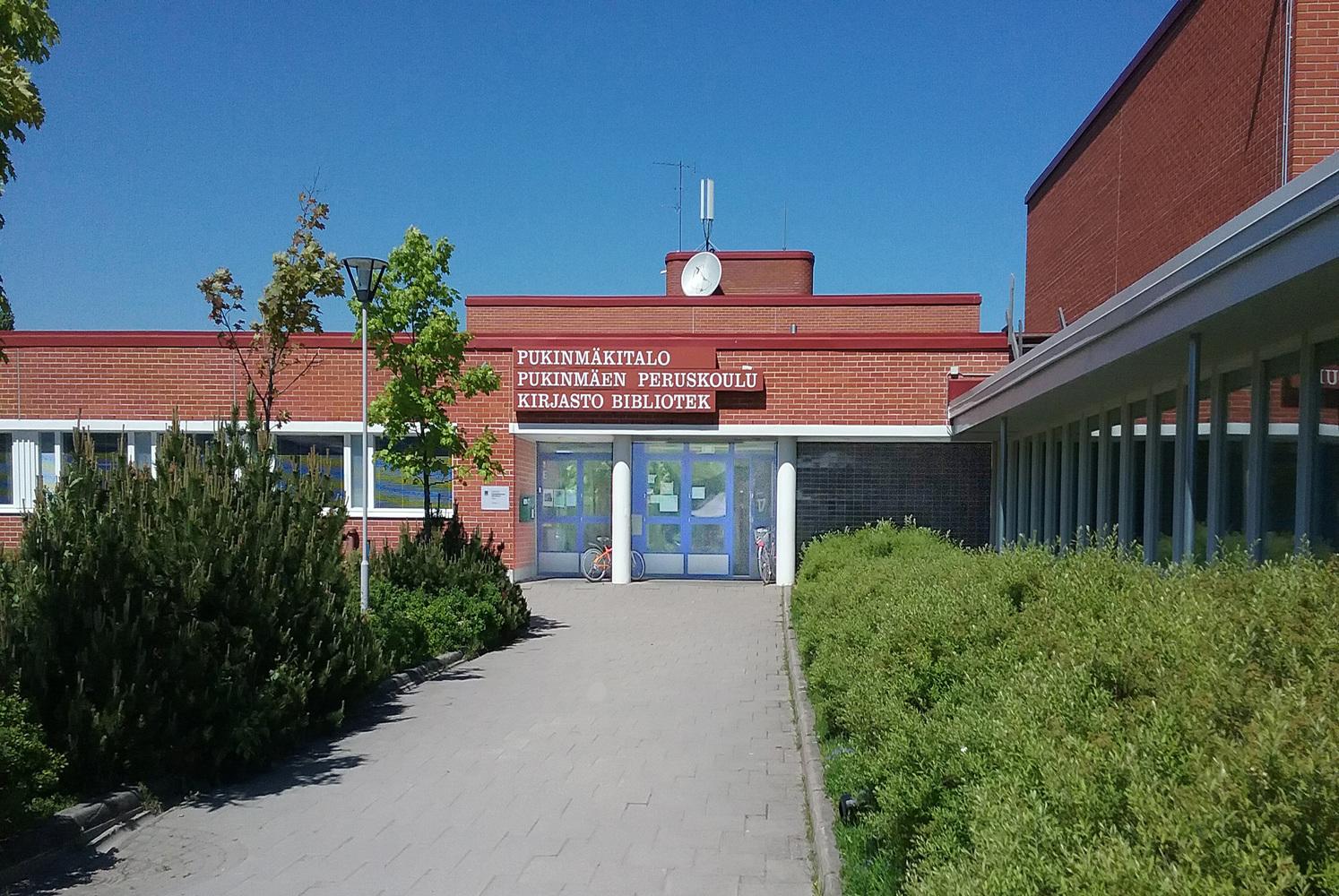 Pukinmäen kirjasto